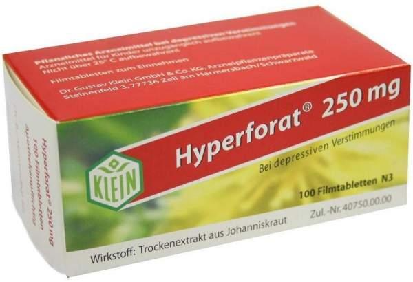Hyperforat 250 mg 100 Filmtabletten