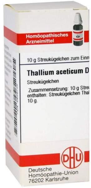 Dhu Thallium Aceticum D6 Globuli