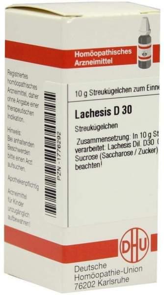 Lachesis D30 10 G Globuli