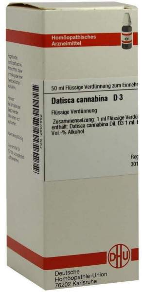 Datisca Cannabina D 3 Dilution