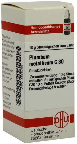 Plumbum Metallicum C 30 Globuli