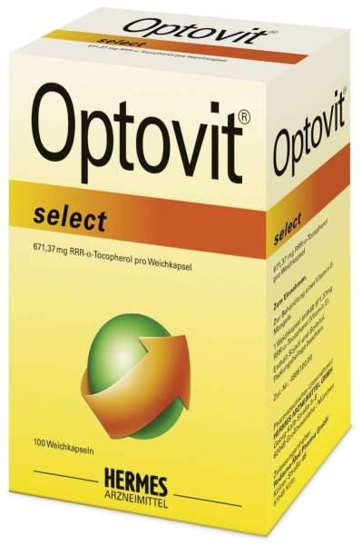 Optovit select 1000 I.E. Vitamin-E 100 Kapseln