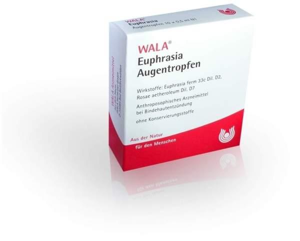 Wala Euphrasia Augentropfen 10 X 0,5 ml