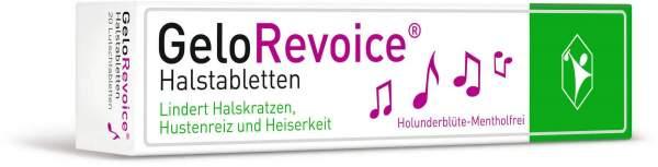 GeloRevoice Halstabletten Holunderblüte - Mentholfrei 20 Lutschtabletten