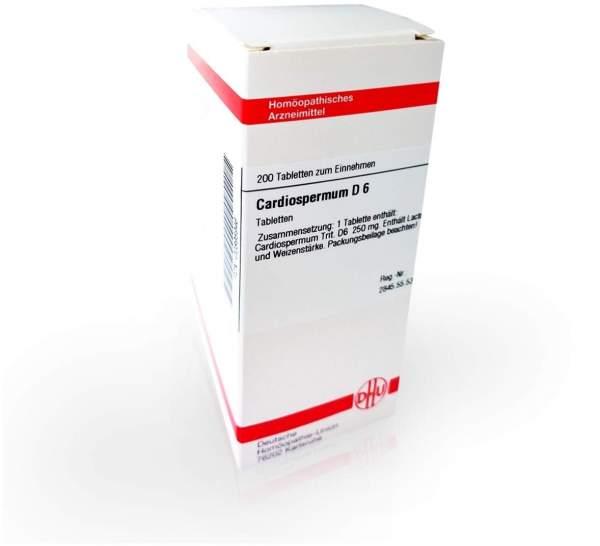 Cardiospermum D 6 200 Tabletten