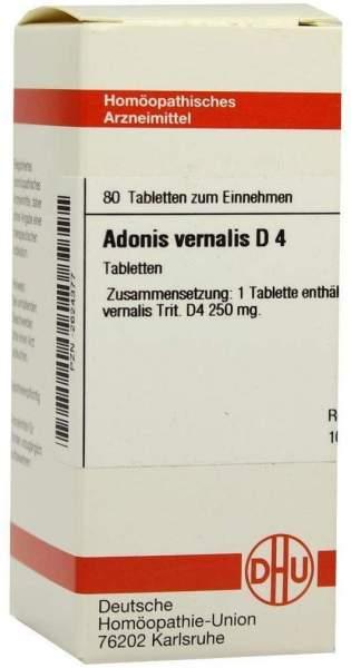 Adonis Vernalis D4 80 Tabletten