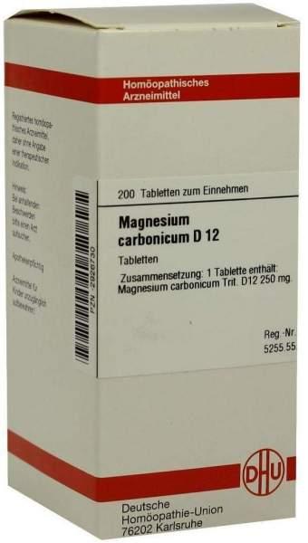 Magnesium Carbonicum D12 Tabletten 200 Tabletten
