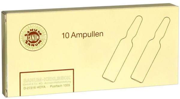 Notakehl D 5 10 X 1 ml Ampullen