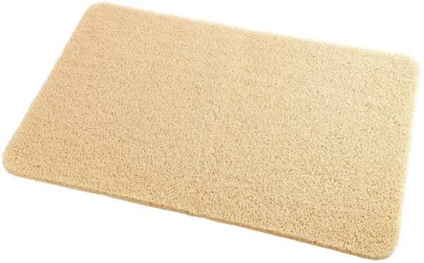 Wellness Fußmatte beige 40 x 60 cm