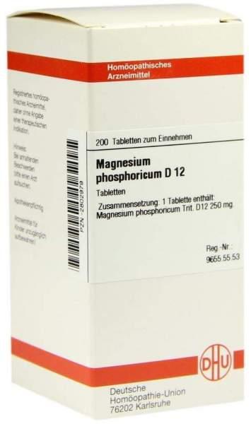 Magnesium Phosphoricum D12 Dhu 200 Tabletten