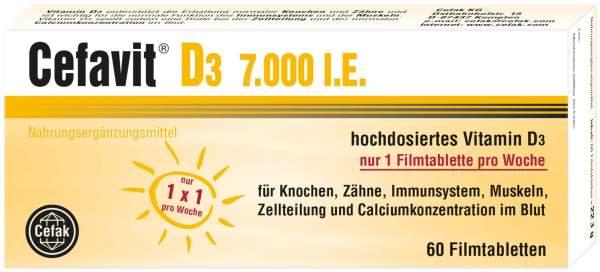 Cefavit D3 7.000 I.E. 60 Filmtabletten