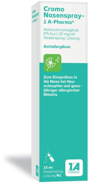 Cromo 1a Pharma 15 ml Nasenspray