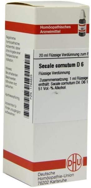 Secale Cornutum D6 Dilution 20 ml Dilution