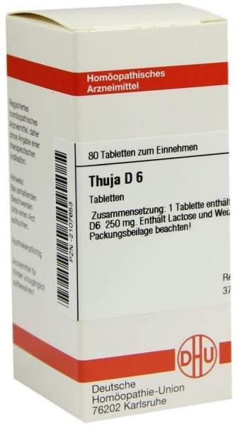 Thuja D6 Tabletten 80 Tabletten