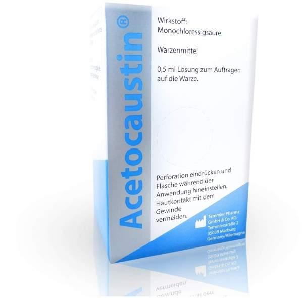 Acetocaustin 0,5 ml Lösung