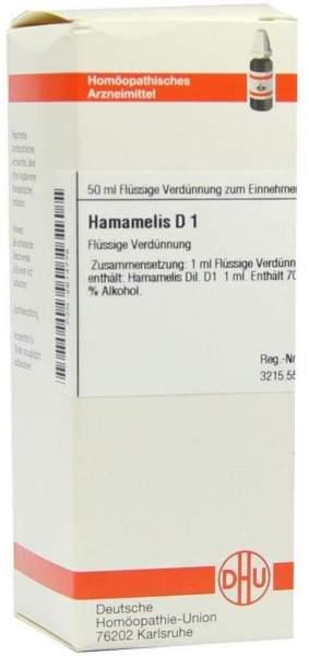 Hamamelis D1 Dhu 50 ml Dilution