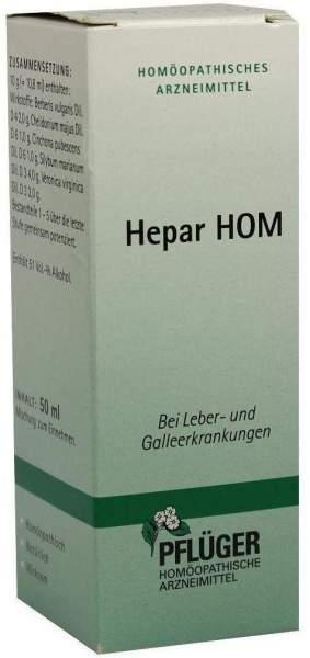 Hepar Hom 50 ml Tropfen