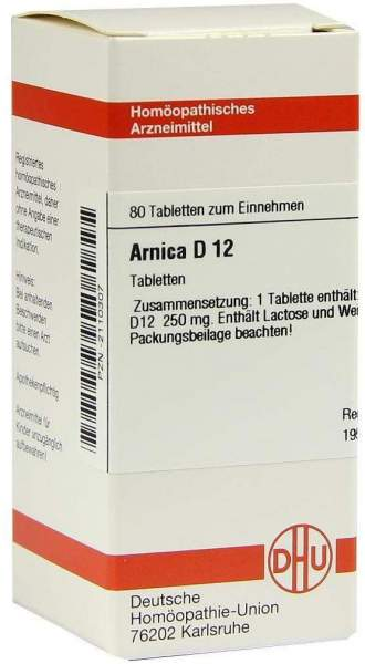Arnica D12 80 Tabletten