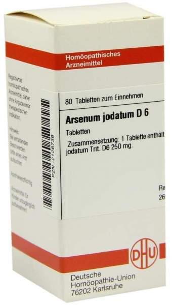 Arsenum Jodatum D6 80 Tabletten