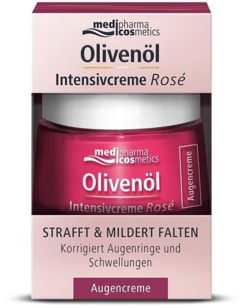 Olivenöl Intensivcreme Rosé Augencreme 15 ml