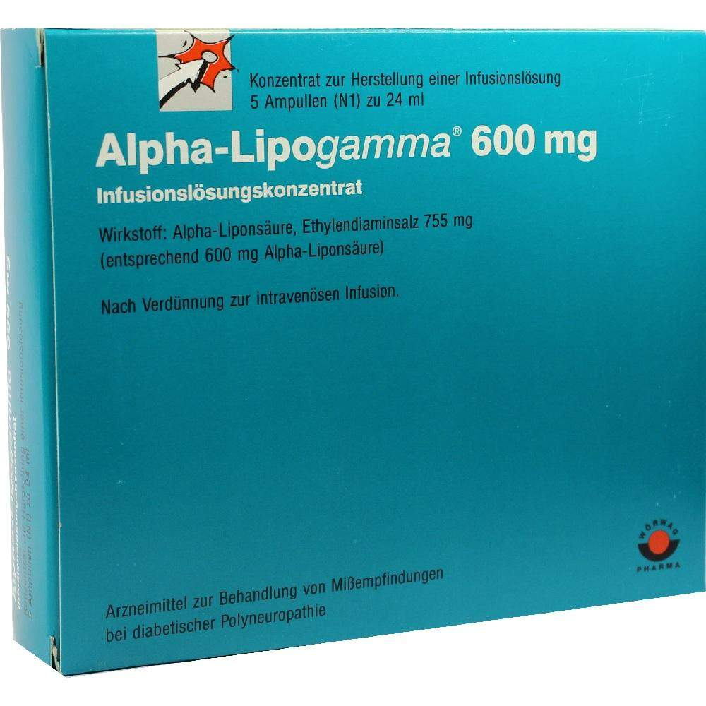 Alpha Lipogamma 600 Infusionslösungkonzentrat