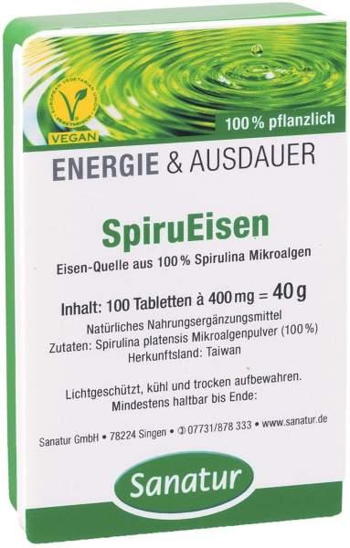 Spirueisen Eisen Spirulina 100 Tabletten