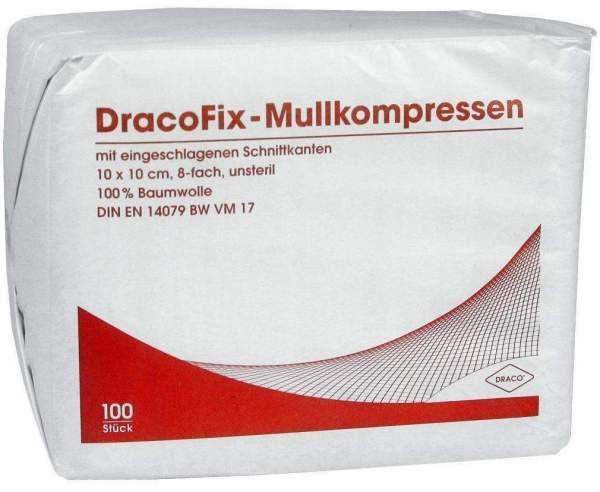 Dracofix Op-Kompressen Unsteril 10x10cm 8fach