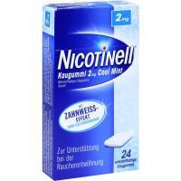 Nicotinell Kaugummi 2 mg Cool Mint 24 Kaugummis