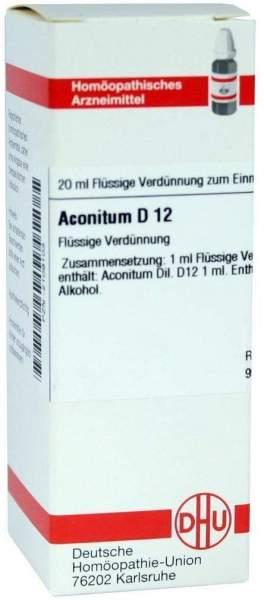 Aconitum D12 20 ml Dilution