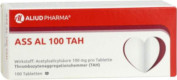 ASS Al 100 TAH 100 Tabletten