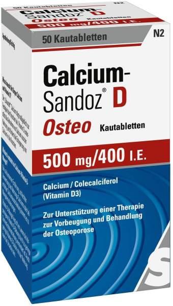Calcium Sandoz D Osteo 50 Kautabletten