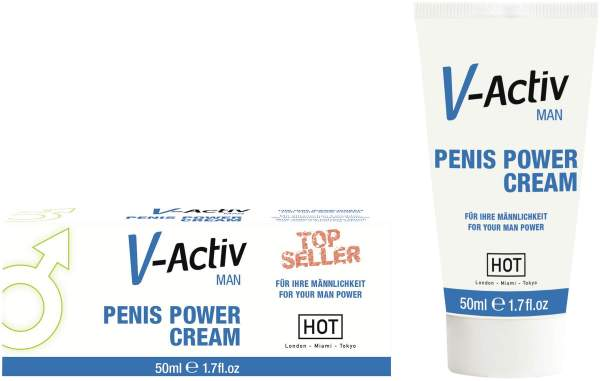 Penis Power Cream V-Activ for Men