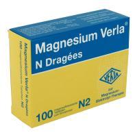 Magnesium Verla N Dragees 100 magensaftresistente Tabletten