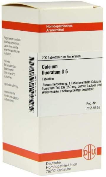 Calcium Fluoratum D6 200 Tabletten