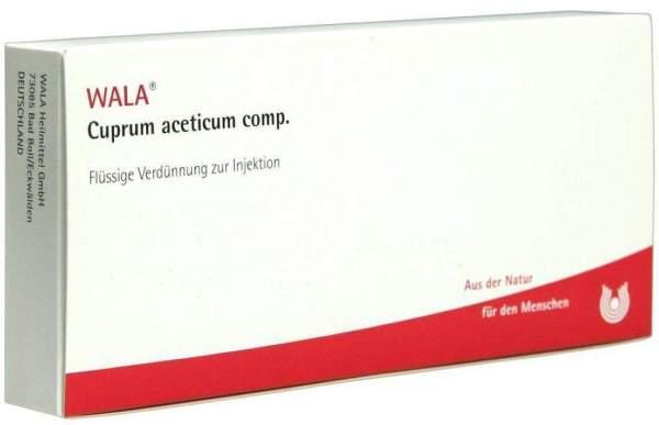 Cuprum Aceticum Comp. 10 X 1 ml Ampullen