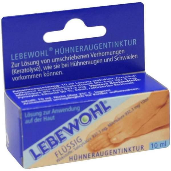 Lebewohl Flüssig 10 ml Tinktur