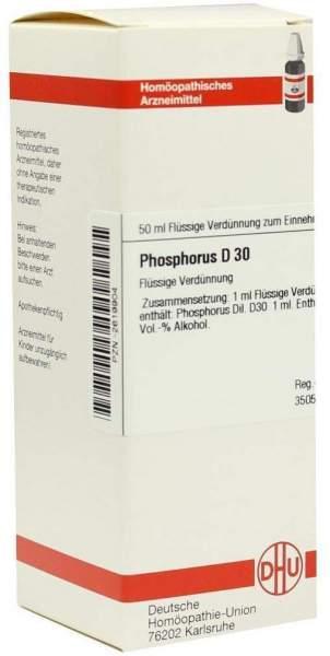 Phosphorus D30 Dilution 50 ml Dilution