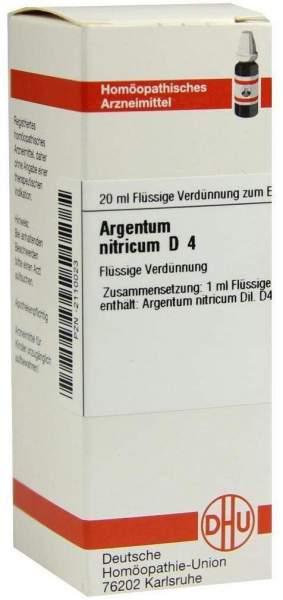 Argentum Nitricum D 4 Dilution