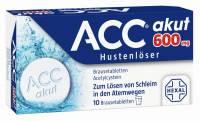 ACC akut 600 mg Hustenlöser 10 Brausetabletten
