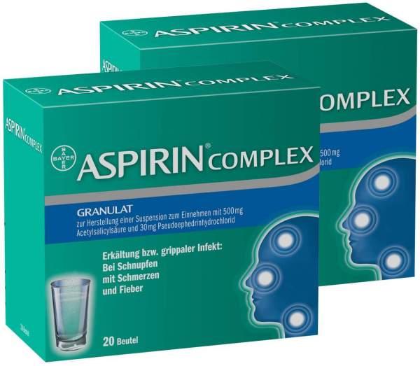 Aspirin Complex 2 x 20 Beutel Granulat