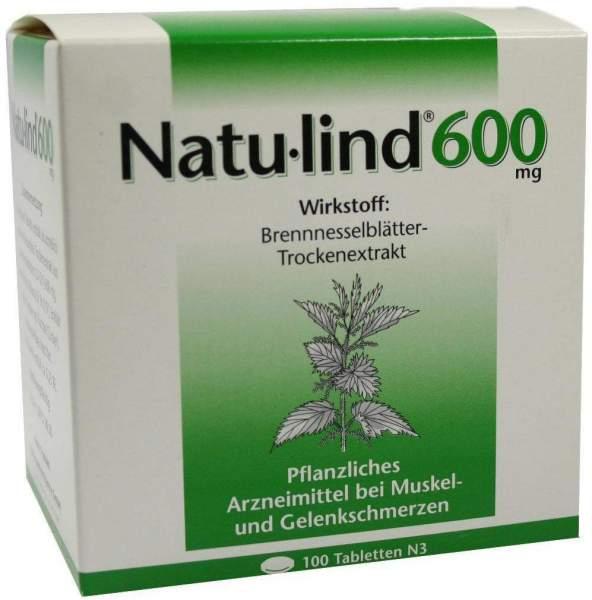 Natulind 600 mg 100 Überzogene Tabletten
