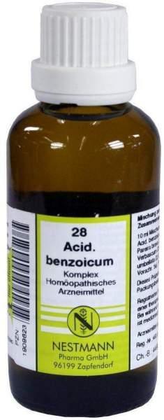 Acidum Benzoicum Komplex Nr. 28 50 ml Dilution