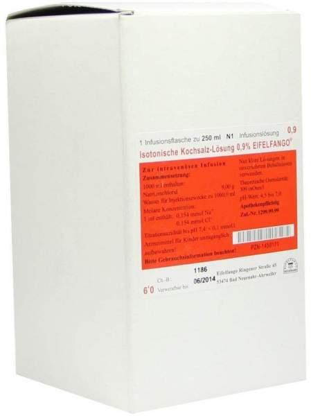 Kochsalzlösung 0,9% Infusionslösung 250 ml Infusionslösung