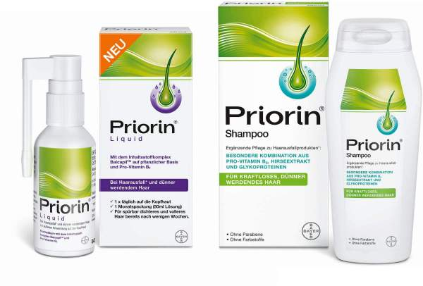 Priorin Liquid Pumplösung 1 x 50 ml + Priorin Shampoo 200 ml