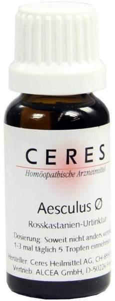 Ceres Aesculus Urtinktur 20 ml Tropfen