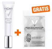 Vichy Liftactiv Augen Creme + gratis Vichy Maske porenverfeinernd