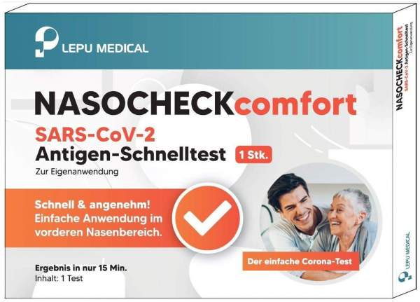 Lepu NASOCHECKcomfort SARS-Cov-2 Antigen-Schnelltest 1 Stück