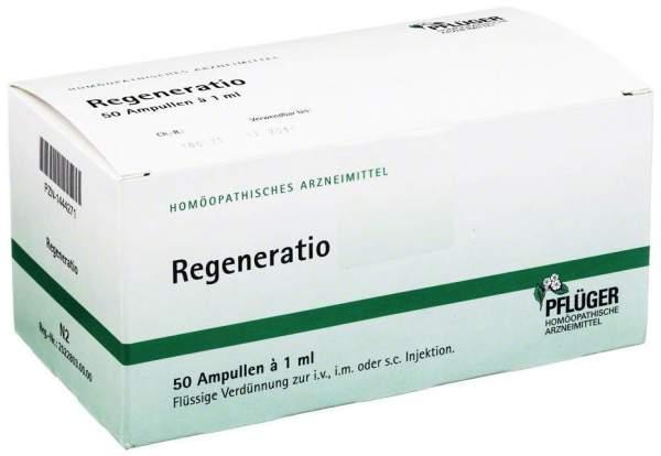 Regeneratio Ampullen 50 X 1 ml Ampullen