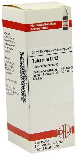 Tabacum D 12 Dilution
