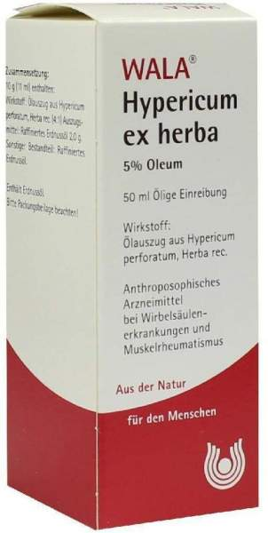 Wala Hypericum Ex Herba 5% Oleum 50 ml